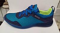 Мужские яркие легкие летние кроссовки ECCO ,качество