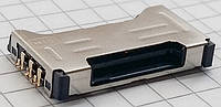Коннектор SIM-карты для мобильных телефонов Samsung C6712, I8262D Galaxy Core, S7560, S7562D, на две SIM-карты