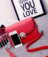 Сумка Dior , диор ,  брендовые сумки  Dior красная