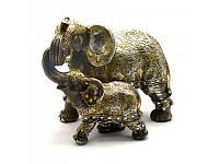 Слоны пара (18х23х14 см) ( 25483)