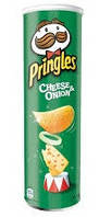 Чипсы  Pringles Cheese & Onion, 165 гр