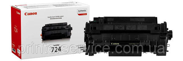 anon Cartridge 724 Black Toner (3481B002AA ) for LBP6750dn
