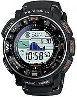 Мужские часы  Casio ProTrek PRW-2500-1 Касио противоударные японские кварцевые