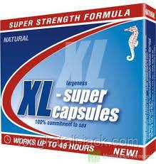 XL-супер капсули № 4 для тривалої потенції
