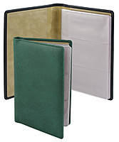 Визитница  Torino, зеленая, Brunnen, 125х200, 96 визиток