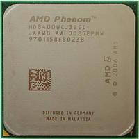 3 ядра Socket AM2+ AMD Phenom  X3 8400   Б/У Полностью рабочий !