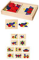 """Развивающая игрушка Viga Toys """"Мозаика"""", детская игра мозаика"""