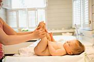 Детский массаж стоп.
