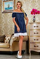 Красивое летнее молодежное платье