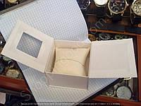 Подарочная коробочка с подушкой для часов картонная артикул 013447 Белый
