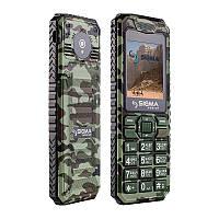Мобильный телефон Sigma mobile X-style 11 Dragon green camouflage