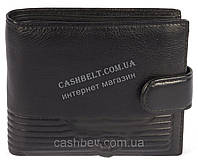 Элитный мужской кошелек бумажник из натуральной качественной кожи с сьемной визитницей art. GA-3905-A ч