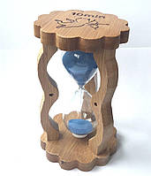 Часы песочные в бамбуке (14,5х8,5х5,5 см) 10 минут