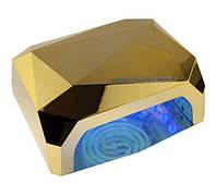 УФ LED+CCFL лампа (таймер 10, 20, 30сек) 36 Вт