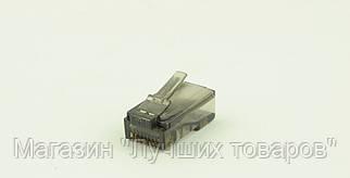 Коннектор RJ45 цветной (упаковка-1000шт.) GOLD quality A+
