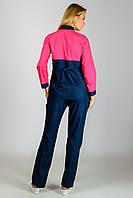 Женский медицинский костюм Роуз (воротник стойка)