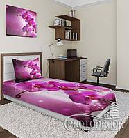 """Фотопокрывало """"Сливовая орхидея"""" (2,2м*2,4м)"""