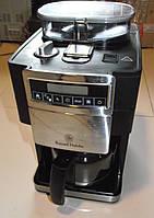 Кофеварка с встроенной кофемолкой Russell Hobbs б/у