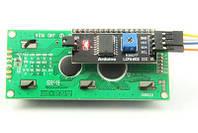 LCD1602 ЖК 16х2 модуль с припаянным i2c модулем