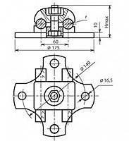 Кабельная стяжка черный Orbita 2,5*100мм CHS-3*100