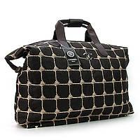 Сумка текстильная большая женская коричневая Chanel 5338