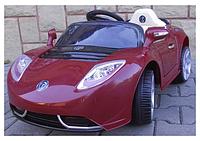 Детский электромобиль Cabrio Т Бордовый на пульте управления