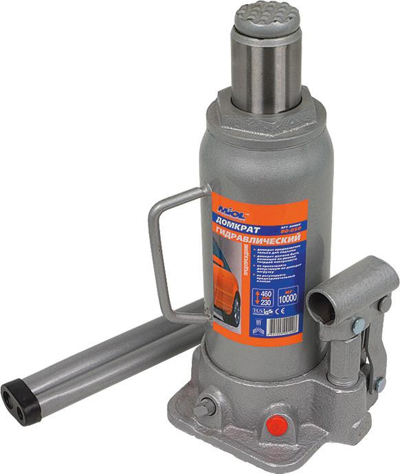 Домкрат гидравлический бутылочный 8 т, 230-457 мм Miol 80-040