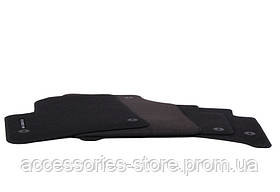Велюровые ковры салона Porsche Cayenne, Black