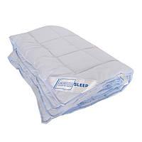 Одеяло шерстяное зимнее SoundSleep Color Dreams голубое 140х205 см