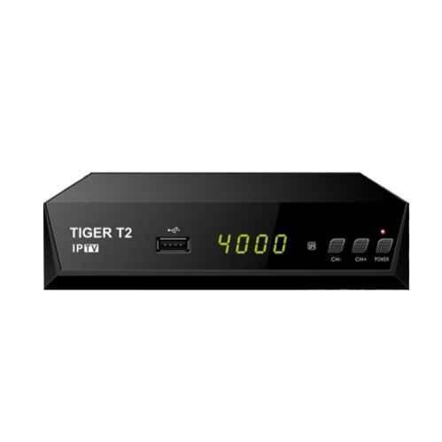 Цифровой эфирный приемник Tiger T2 DVB-T2 Dolby Digital AC3