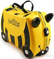 Детский чемоданчик на колесах Trunki Bernard the Bee TRU- B044 Bernard