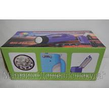 Фонарик светодиодный аккумуляторный BH-203 1+12LED, фото 3