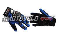 Перчатки PRO-BIKER (mod:RQ-01, size:L, синие)