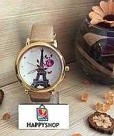 Часы женские с лакированным ремешком (Gold)