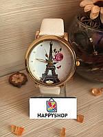 Часы женские с лакированным ремешком (White)