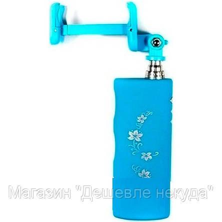 Монопод для селфи + Power bank, палка для селфи с портативной зарядкой, фото 2