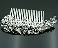 Элитные свадебные аксессуары- гребень для волос 420