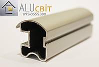 Вертикальный профиль EGO А165 серебро закрытый