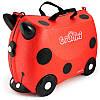 Детский чемоданчик на колесах TRUNKI LADYBUG HARLEY  TRU L092 Harley
