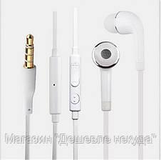 Наушники вакуумные с микрофоном Samsung S4, фото 2