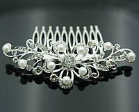 Красивые свадебные украшения для волос- свадебные гребни 423