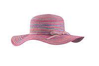 Шляпа женская пляжная для пляжа белая черная коричневая розовая шляпка панама Feba F65 KAP 4 5 6 7 8