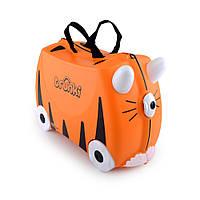 Детский чемоданчик на колесах TRUNKI TIGER TIPU Tru -T085 Tiger