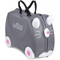Детский чемоданчик на колесах TRUNKI Benny Cat Tru-0180