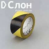 ЗМ™ 766i - Виниловая лента для сигнальной маркировки стен, 51 мм, желто-черный, рулон 33 м, фото 2