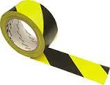 ЗМ™ 766i - Виниловая лента для сигнальной маркировки стен, 51 мм, желто-черный, рулон 33 м