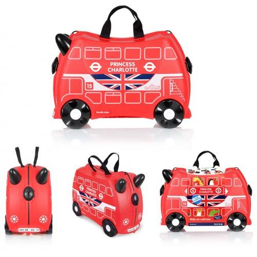 Детский чемодан TRUNKI Autobus TRU-0186