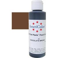 Краситель гелевый AmeriColor (Америколор) Шоколадно-Коричневый  128г