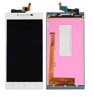 Дисплей Lenovo P70 Dual Sim with touchscreen white orig (LCD TEST)