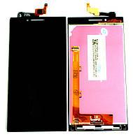 Дисплей Lenovo P70 Dual Sim with touchscreen black